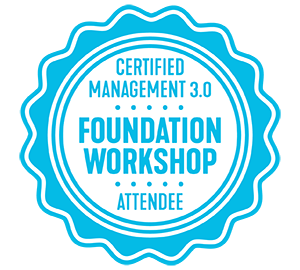 Management 3.0 Foundation Workshop Badge
