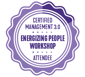 Management 3.0 Energizing People Workshop